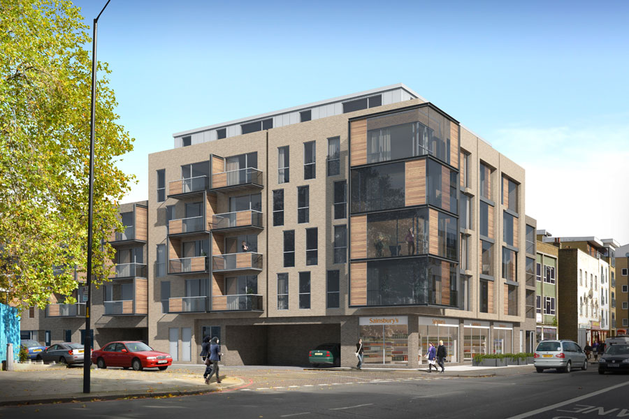 Building Peckham